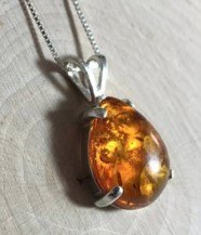amber necklace for protection