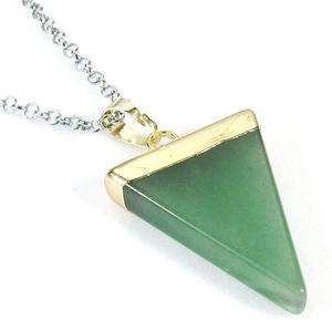 Aventurine Point Necklace