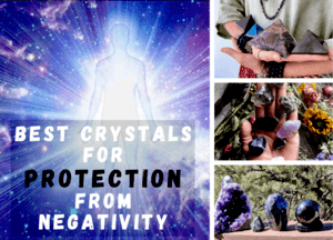 CRYSTALS FOR PROTECTION NEGATIVE ENERGY