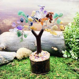 7 Chakra Feng Shui Gemstone Tree