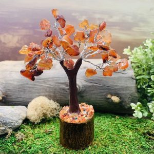 Carnelian Feng Shui Gemstone Tree