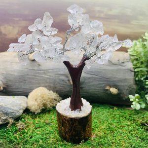 Clear Quartz Feng Shui Gemstone Tree