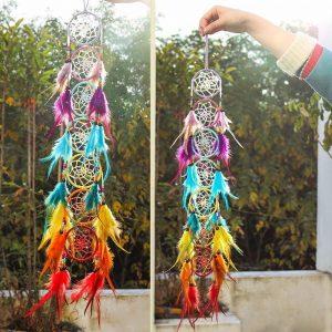 7 Piece Chakra Dreamcatcher