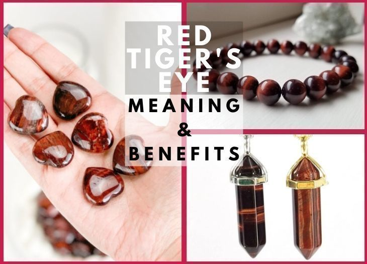 Red Tiger's eye meanning and benefits
