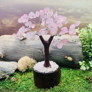 Rose Quartz Feng Shui Gemstone Tree
