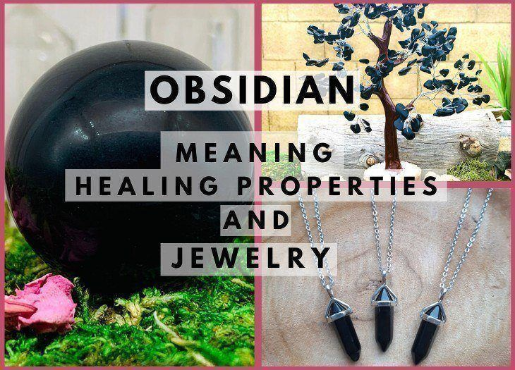 black obsidian meaning healing properties