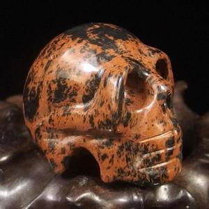 Mahogany Obsidian Crystal Skull