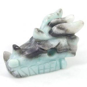 Amazonite Dragon Carving