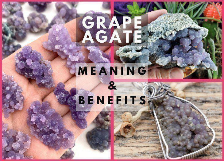 grape agate meaning and benefits