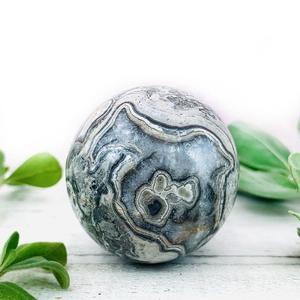 Grey Jasper Crystal Ball