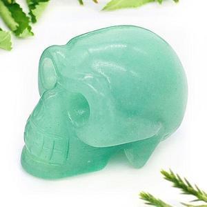 Green Aventurine Crystal Skull