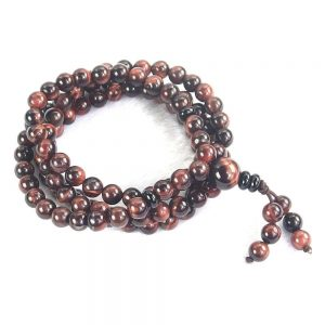 Red Tiger Eye Mala