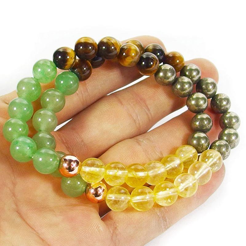 attract_abundance_crystal_beaded_bracelet_green_aventurine_tiger_eye_citrine_pyrite