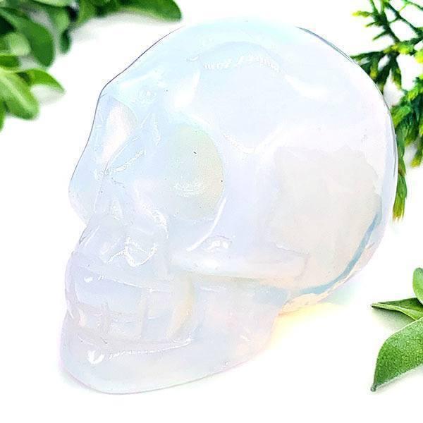 opalite crystal skull