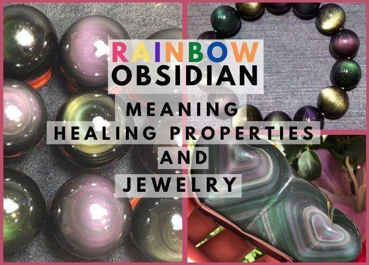 rainbow obsidian meaning healing properties