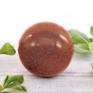 Red Sandstone Crystal Ball