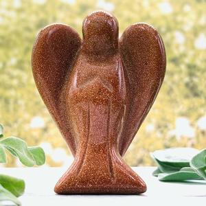Red Sandstone Crystal Angel