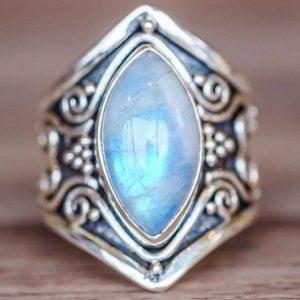 Boho Spirit Moonstone Ring