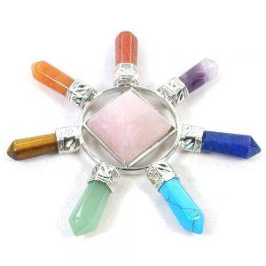 Rose Quartz Crystal Energy Generator