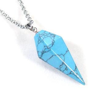 Turquoise Pendulum Necklace