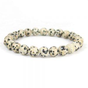 Dalmatian Jasper Beaded Bracelet