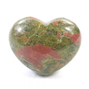 Unakite Jasper Crystal Heart