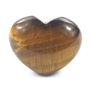 Tiger Eye Crystal Heart