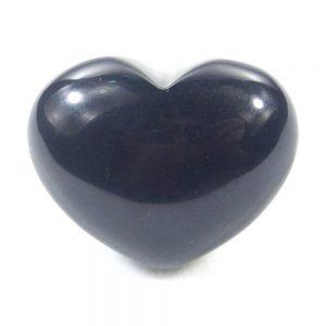Black Obsidian Crystal Heart