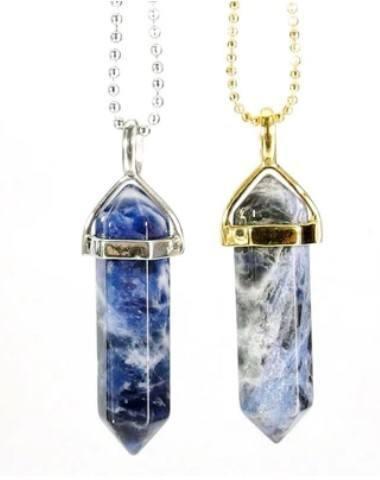 sodalite pendant necklace fluorite pairing