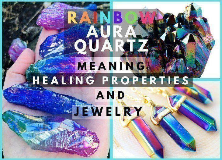 rainbow aura quartz meaning healing properties