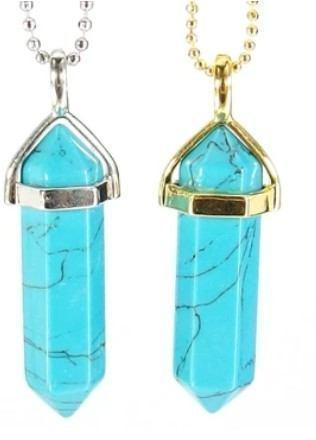 turquoise pendant necklace fluorite pairing