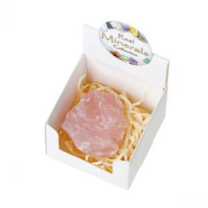 Uncut Rose Quartz Crystal