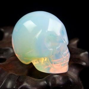 White Opalite Crystal Skull