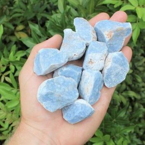 Angelite Raw Natural Stones