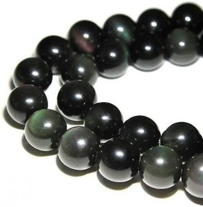 Rainbow Obsidian Round Loose Beads for Jewelry Making DIY Bracelet Necklace
