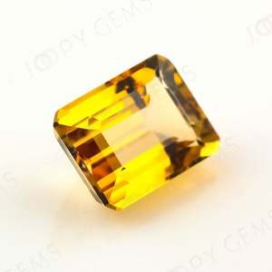 Yellow Tourmaline Baguette, 1.750 Carat