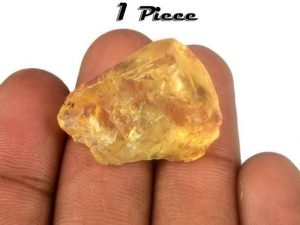 Yellow Tourmaline Natural Untreated Gemstone
