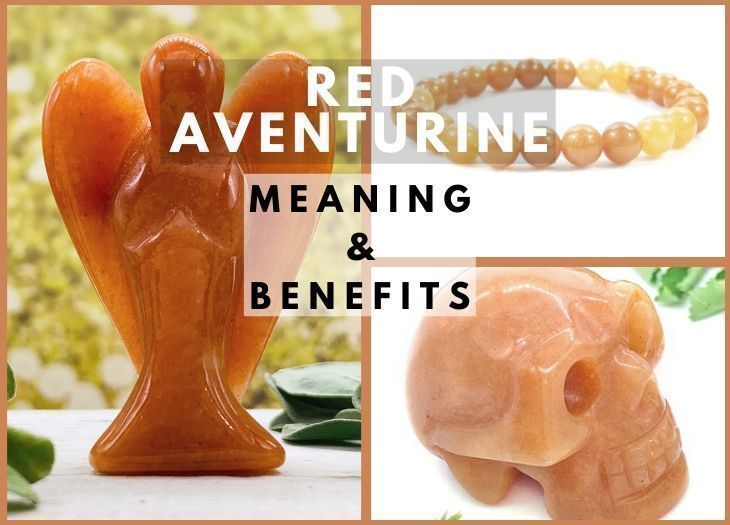 red aventurine meanings and benefits