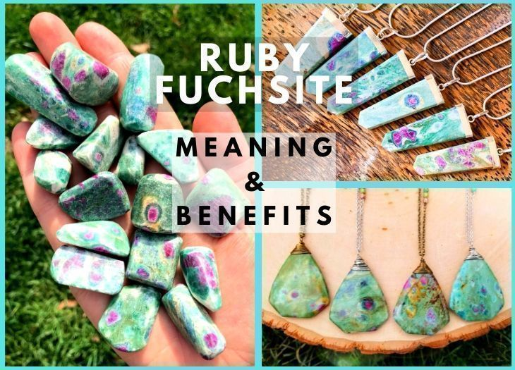 ruby fuchsite meanings and benefits
