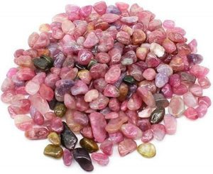 Watermelon Tourmaline Tumbled Stones