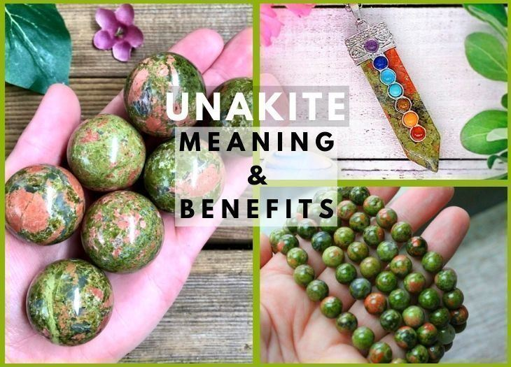 unakite meanings and benefits