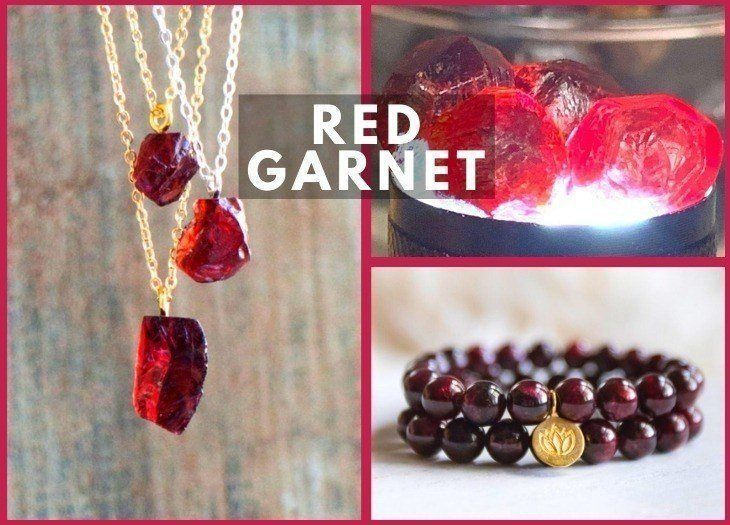 Red Garnet meanning and benefits