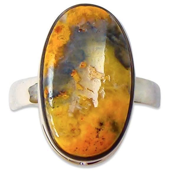 yellow jasper ring