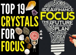 Crystals for Focus, Concentration, and Productivity