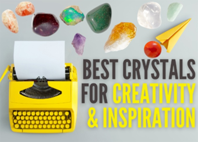 Best Crystals for Creativity and Inspiration